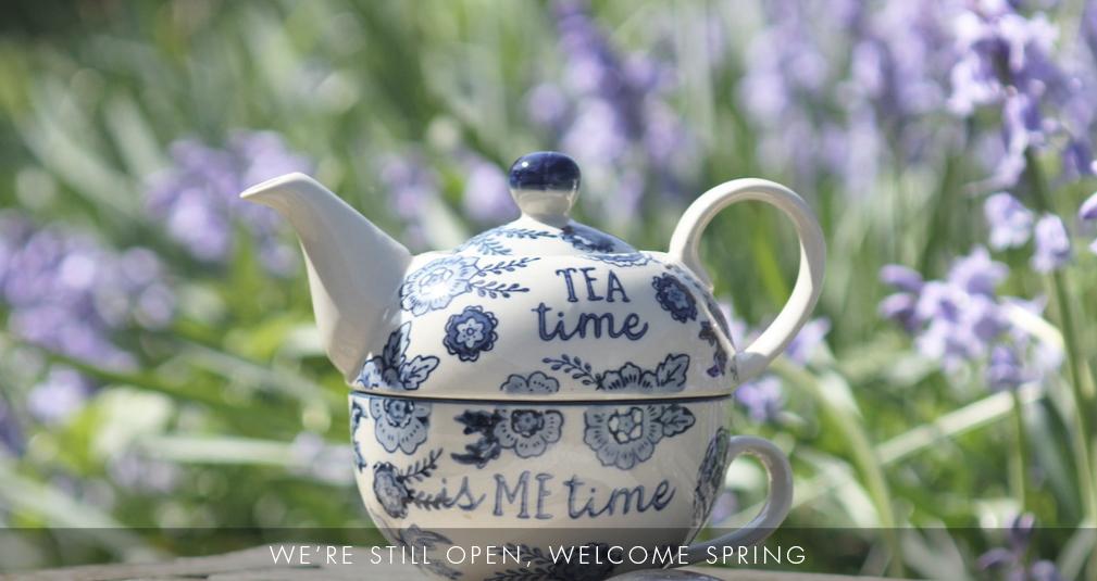 1. Tea for one set £12.95