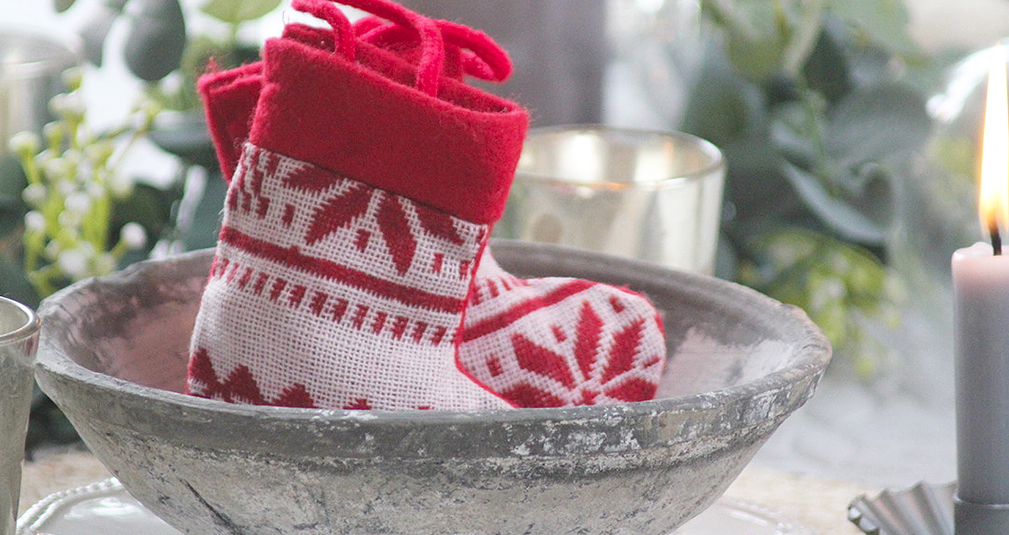 8. Mini Christmas stocking