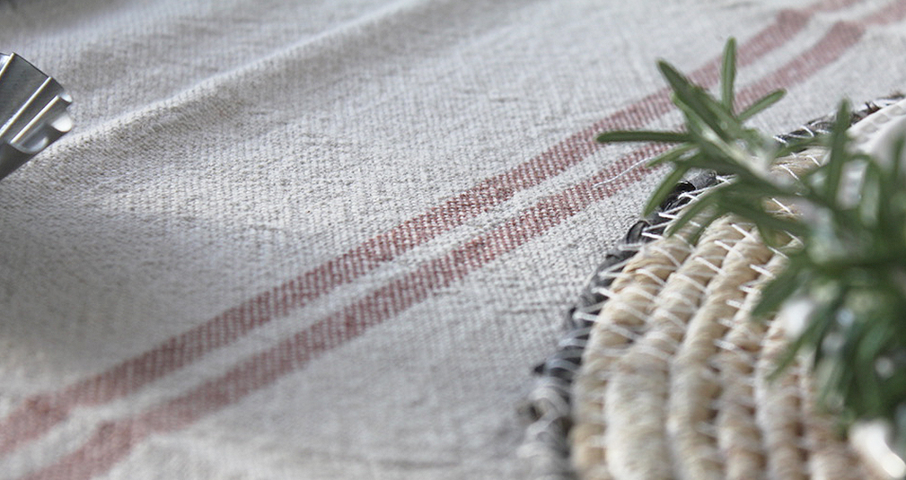 5. Linen table runner